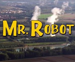 yellow and mr robot image
