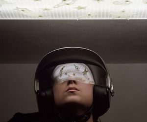 astronaut, dark, and fashion image