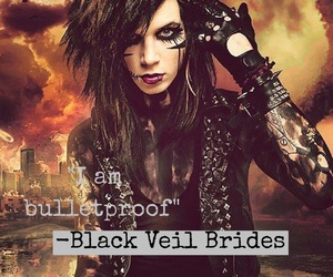 bulletproof, bvb, and andy biersack image