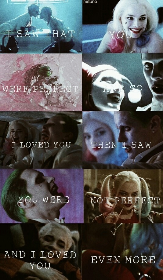 Suicide Squad The Joker And Harley On We Heart It