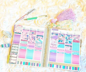 agenda, college, and journal image