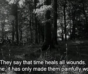 pain, quotes, and sad image