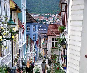 norway, bergen, and street image