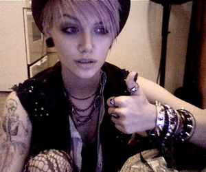 androgynous, stud, and cute image