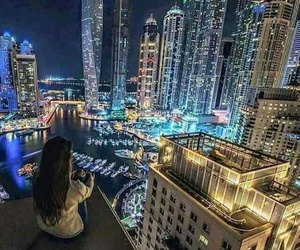 beauty, girl, and view image