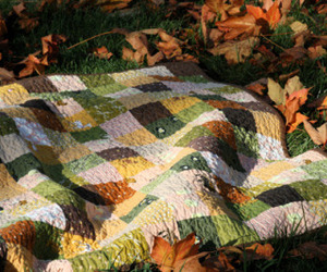 autumn and blanket image
