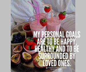 goals, healthy, and lifestyle image