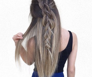 girl, hair, and ombre image