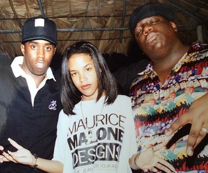 aaliyah and biggie image