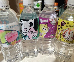 water, aesthetic, and bottle image