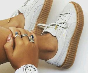 shoes, rihanna, and white image