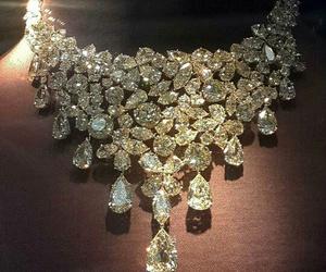 luxury, diamond, and necklace image
