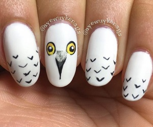 harry potter, manicure, and nails image