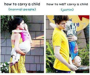 baby, carry, and selena gomez image