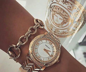 clock and Versace image