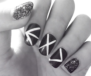 exo, nails, and kpop image
