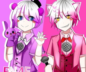 fnaf, funtime foxy, and sister location image