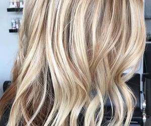 blonde, hair, and hair ideas image