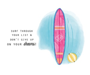 background, surfboard, and blue image
