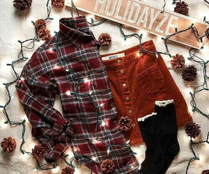 fall, autumn, and clothes image