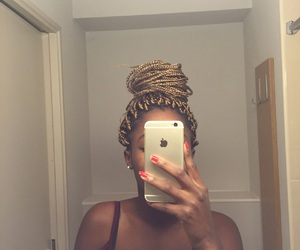 African, blackgirl, and black image