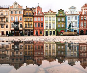 city, colors, and house image