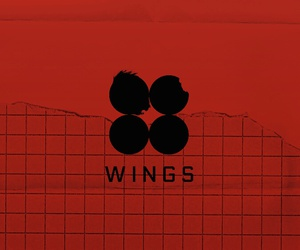 bts, wallpaper, and wings image