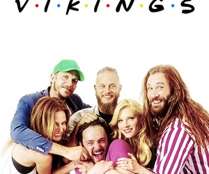 vikings, friends, and ragnar image