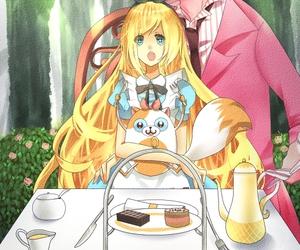 adventure time, anime girl, and anime boy image