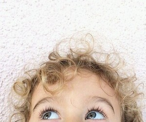 baby, blue, and blonde image