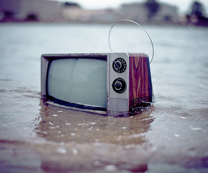 drowning, sea, and tv image