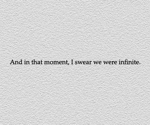 book, infinite, and quote image