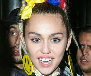 celebrities, colorful, and miley cyrus image