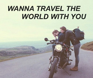 bikes, moto, and love image