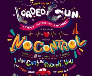 letra, no control, and 1d image