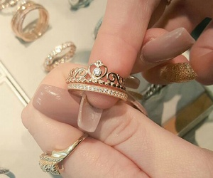 gold, love it, and princess image