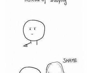 got, funny, and shame image