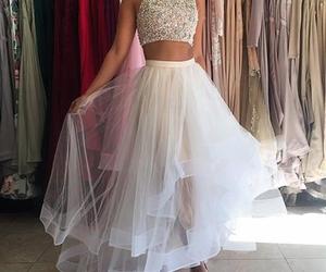 dress, accessories, and elegant image