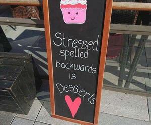 dessert, carefree, and cupcake image