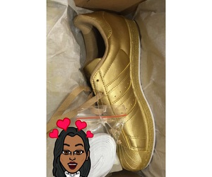 adidas, dope, and gold image