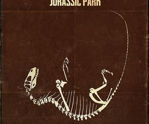 film, fossil, and Jurassic Park image