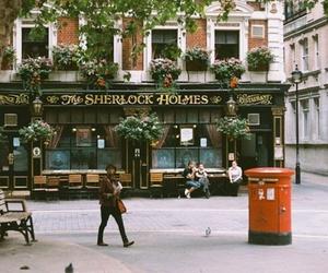 sherlock holmes, vintage, and london image