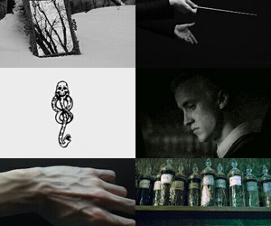 aesthetic, harry potter, and draco image
