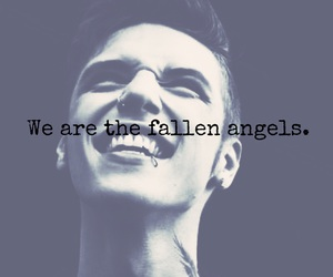 FALLEN ANGELS, black veil brides, and bvb image