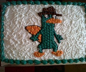 cake, delicious, and perry the platypus image