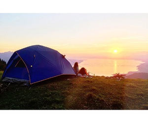 activities, best friends, and camping image