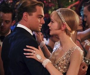 the great gatsby, leonardo dicaprio, and movie image