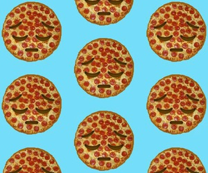 app, background, and pizza image