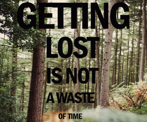 lost, quote, and time image