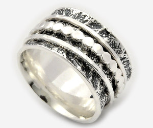 etsy, promise rings, and free shipping image